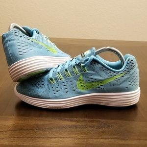 Nike Lunartempo Blue Green Size 9